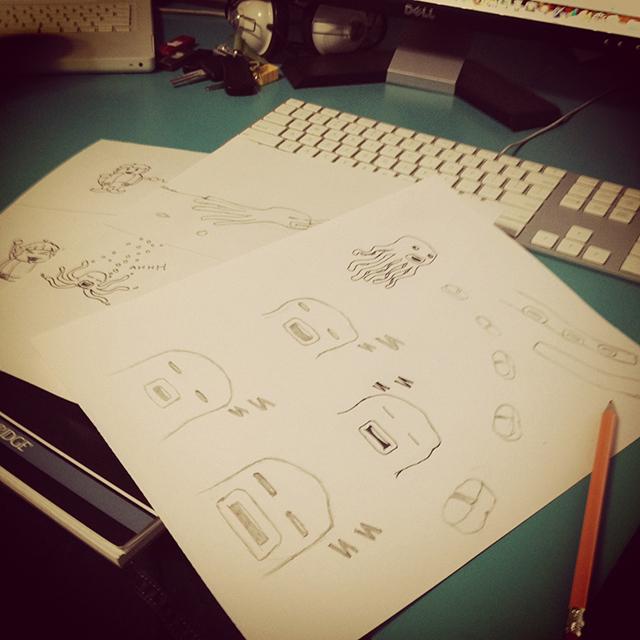 Game Concept Sketch