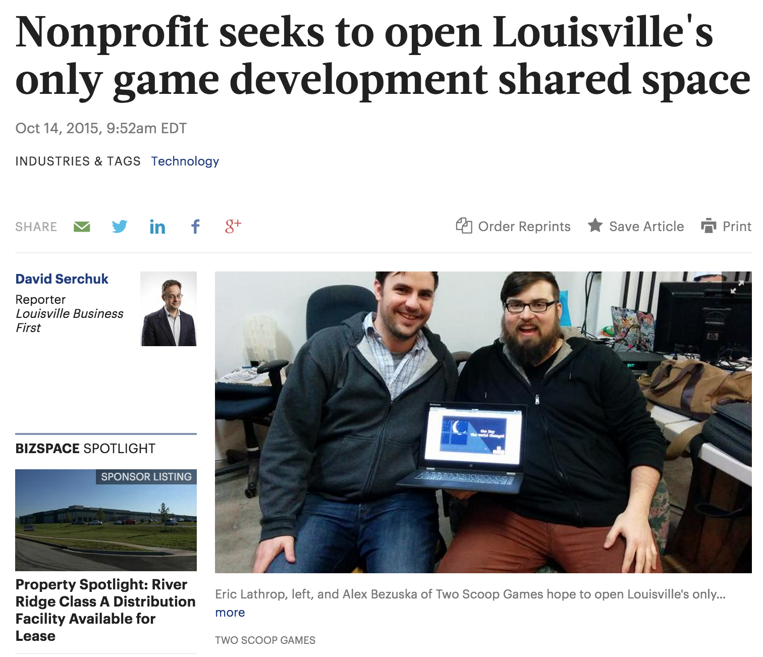 Nonprofit seeks to open Louisville's only game development shared space